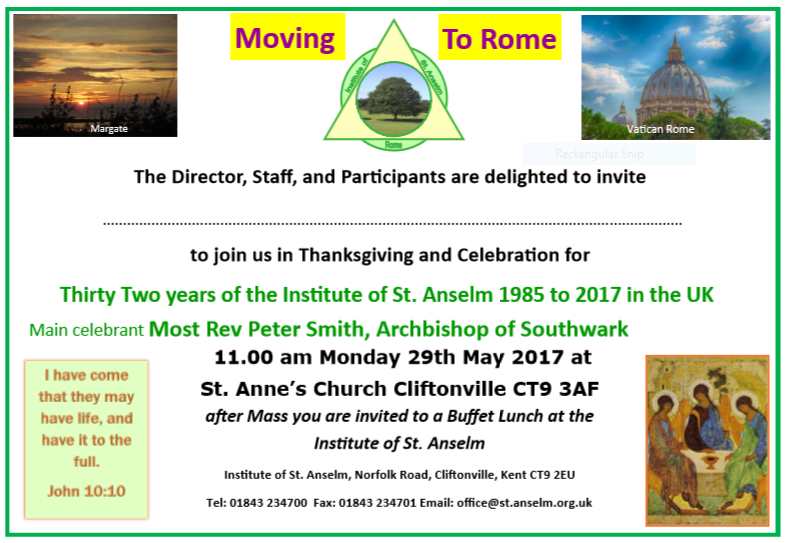 Thanksgiving Mass Invitation